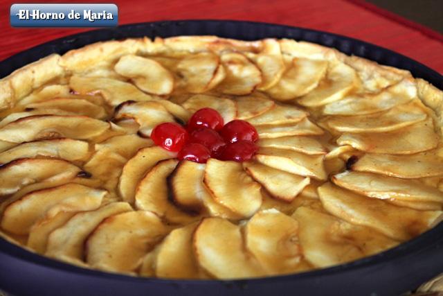 Tarta de Manzana terminada.